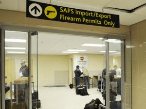 SAPS kontoret i Johannesburg Lufthavn