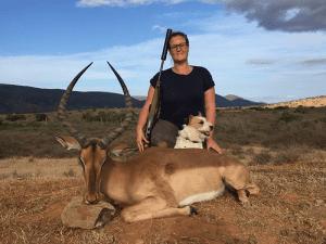 Non-trophy impala